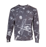 Sweatshirt Star Wars - T-Fighter