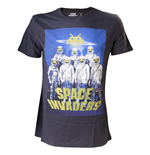 T-shirt Space Invaders - Astronauts