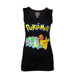 T-shirt Sans Manches Pokémon - Starting Characters