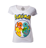 T-shirt Pokémon - Pokémons in circle