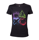 T-shirt PlayStation - Sketched Controller Buttons