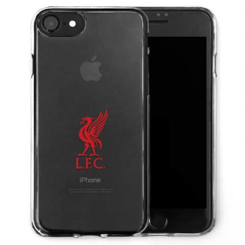 Coque TPU iPhone 7 Liverpool FC Noir