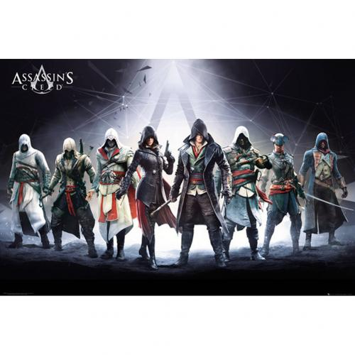 Poster Assassin's Creed - Group