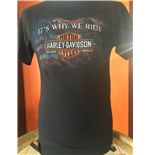 T-shirt Harley Davidson - Why Rude