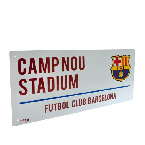 Plaque FC Barcelone