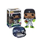 NFL POP! Football Vinyl Figurine Marshawn Lynch (Seattle Seahawks) 9 cm
