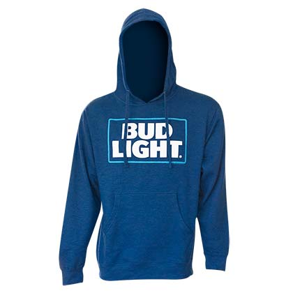 Sweat à Capuche Bud Light - logo