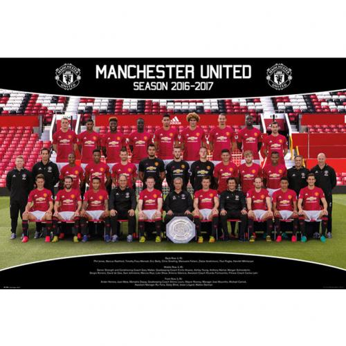 Poster Manchester United FC - Squad 27