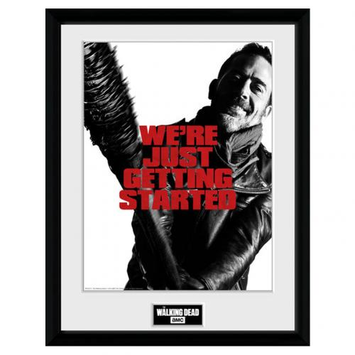 Photo Encadrée The Walking Dead - Negan