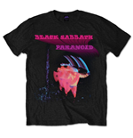 T-shirt Black Sabbath: Paranoid Motion Trails
