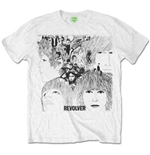 T-shirt The Beatles: Revolver Album Cover