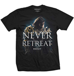T-shirt World of Warcraft pour homme - Design: Never Retreat