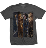 T-shirt World of Warcraft pour homme - Design: Character Slice