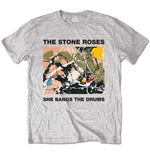 T-shirt The Stone Roses: She Bangs The Drums