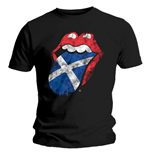 T-shirt The Rolling Stones: Scotland Tongue