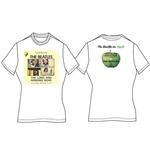 T-shirt Beatles pour femme - Design: Long & Winding Road