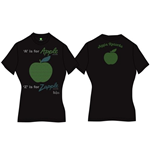 T-shirt Beatles pour femme - Design: A is for Apple
