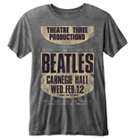 T-shirt Beatles pour homme - Design: Carnegie Hall
