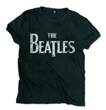 T-shirt The Beatles: Vintage Drop T Logo