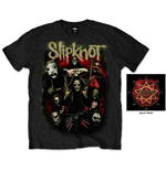 T-shirt Slipknot: Come Play Dying