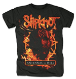 T-shirt Slipknot pour homme - Design: Antennas to Hell