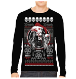 Sweat-shirt Rob Zombie  pour homme - Design: Bloody Santa
