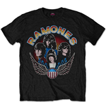 T-shirt Ramones: Vintage Wings Photo