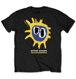 T-shirt Primal Scream  pour homme - Design: Screamadelica Yellow