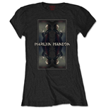 T-shirt Marilyn Manson pour femme - Design: Mirrored