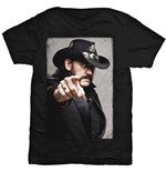 T-shirt Lemmy pour homme - Design: Pointing Photo
