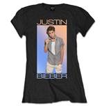 T-shirt Justin Bieber: Colour Fade