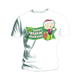 T-shirt Les Griffin: Freakin Holidays