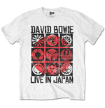 T-shirt David Bowie: Live in Japan