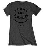 T-shirt Bring Me The Horizon  pour femme - Design: Alone & Depressed