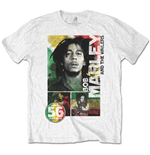 T-shirt Bob Marley: 56 Hope Road Rasta