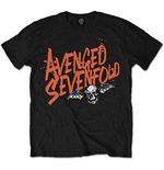 T-shirt Avenged Sevenfold: Orange Splatter