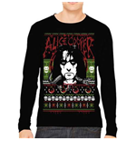 Sweat-shirt Alice Cooper  pour homme - Design: Holiday 2015