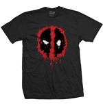 T-shirt Marvel Comics: Deadpool Splat Icon