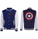 Veste Varsity Marvel Comics: Avengers Assemble - Distressed Shield