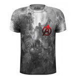 T-shirt Marvel Comics: Avengers Montage Pocket Logo