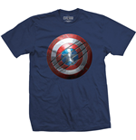 T-shirt Marvel Comics Captain America: Civil War - Clawed Shield