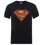 T-shirt DC Comics: Originals Superman Shield Crackle Logo
