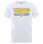 T-shirt Wonder Woman pour homme - Design: Wonder Woman Logo Crackle