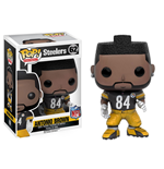 NFL POP! Football Vinyl Figurine Antonio Brown (Steelers) 9 cm