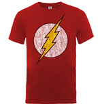 T-shirt DC Comics: Flash Distressed Logo