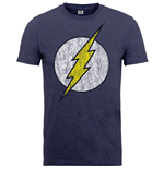 T-shirt DC Comics: Logo Flash Délave