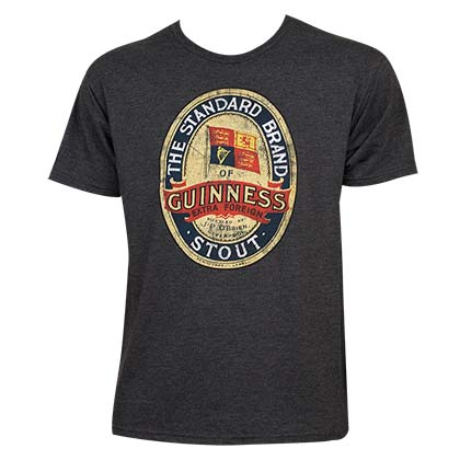 T-shirt Guinness - Emblem Stout