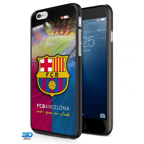 Coque Rigide 3 D iPhone 7 FC Barcelone