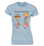 T-shirt Pusheen - Beach Essentials