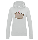 Sweat à Capuche Pusheen - Love Heart